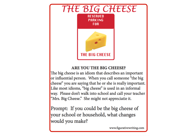ARE YOU THE BIG CHEESE